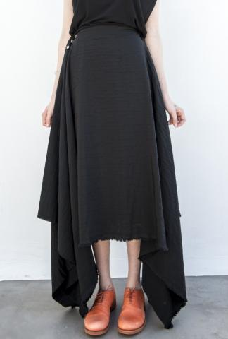 M.A+ K500 One-piece Buttoned Circle Skirt