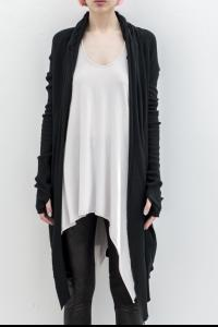 L.G.B. long draping cardigan 9801GYF