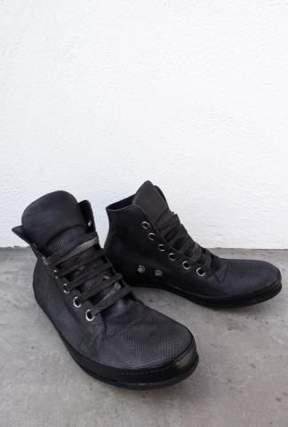 A1923 S2 Karung Water Snake Leather Sneakers