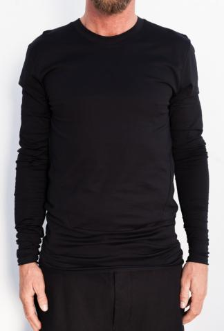 ROOMS by Lost&Found Elongated Long Sleeve T-shirt