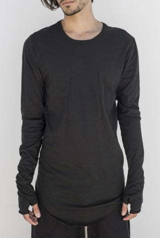 ROOMS by Lost&Found Ιntarsia long sleeve t-shirt