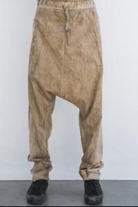 Andrea Ya'aqov Washed Baggy Low-crotch Joggers