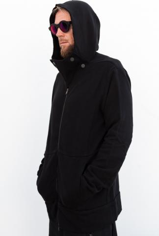 LOST & FOUND 14.278.203 HOODED JACKET COL BLACK