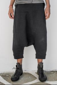 Lost&Found Low-crotch Side Closure Shorts