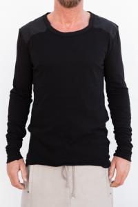 LOST & FOUND 14.277.113 INSERT BACK TOP COL BLACK