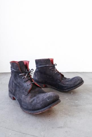 A1923 Ankle boots model 06 in Nero-Rosso