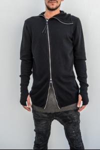 Boris Bidjan Saberi KN3 Knitted Cashmere Ninja Hoodie