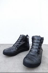 Boris Bidjan Saberi High Bamba sneakers in black