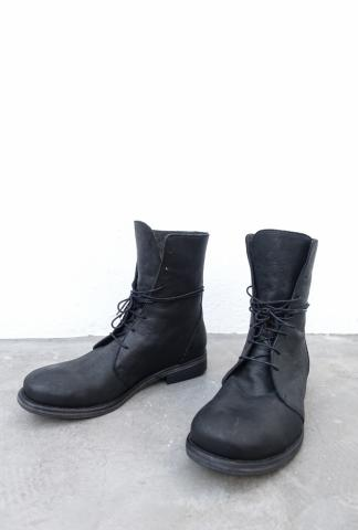 Nostrasantissima Full grain Leather Tall Combat Boots
