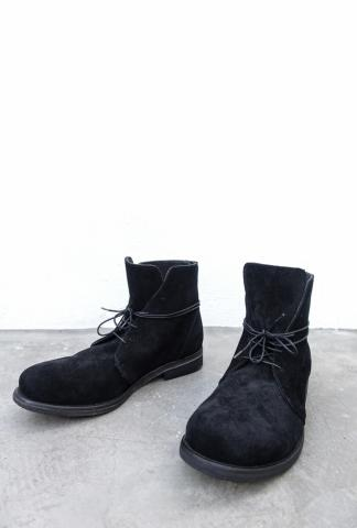 Nostrasantissima Suede Leather Ankle Boots