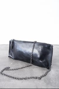 SIMONA TAGLIAFERRI H CHAIN POCHETTE LEATHER