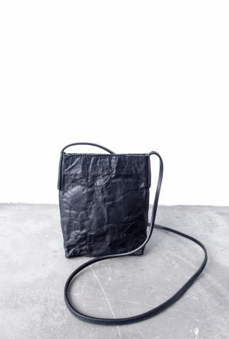 Simona Tagliaferri Anima Structured Metal and Leather Cross-body Bag