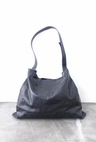 Simona Tagliaferri Full Grain Leather Large Shoulder Bag