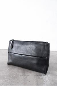 Simona Tagliaferri Full Grain Leather Pochette