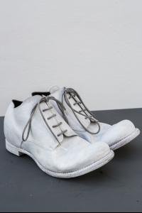 Devoa Guidi Calf Leather Overpainted Derbies
