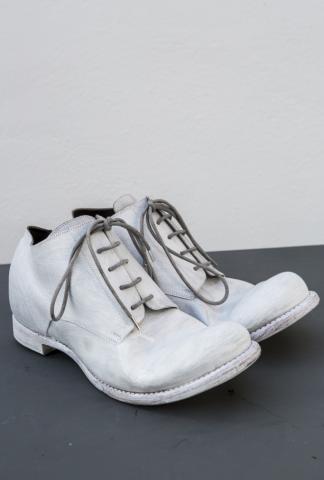 Devoa Guidi Calf Leather Overpainted Derbies