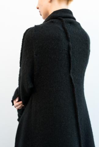 SIMONA TAGLIAFERI FW1701 BLACK LONG SWEATER