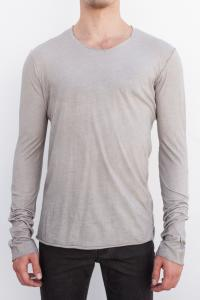 POEME BOHEMIAN EM-TS-10-40 ROUND NECK RAW EDGE CEN