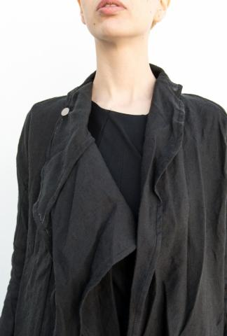 Leon Emanuel Blanck distortion wrap cardigan
