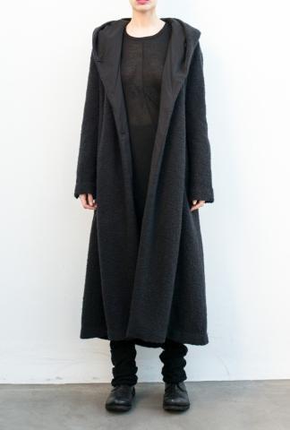 Uma Wang UW8020X99I5 BLACK COAT