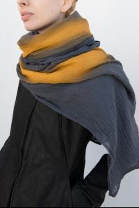 Simona Tagliaferri Painted Silk Blend Scarf