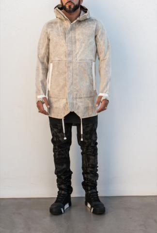 Boris Bidjan Saberi Outdoor jacket, oxidized,seamt