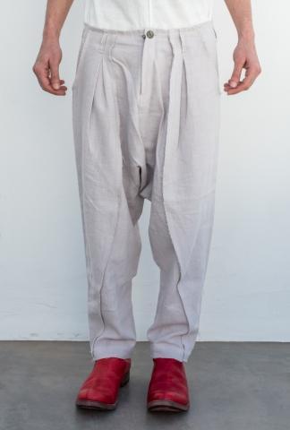 Atelier Aura Johann deepcrotch cropped trouser
