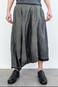 Un-Namable Layered Asymmetric Draped Sarouel Trousers