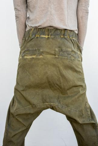 10Sei0otto low-crotch baggy pants