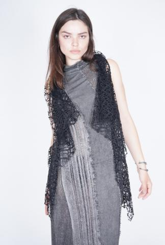 10Sei10otto Lace Cape