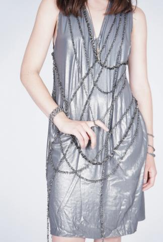 Alexandra Marchi Multiple chain dress