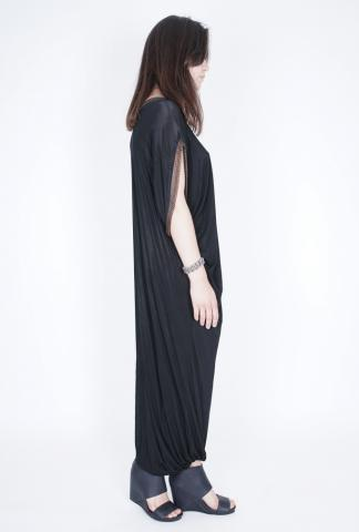 Alexandra Marchi Long dress w/chains