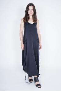 Andrea Ya'aqov Pullable String Draped Dress