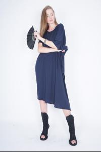 Ivan Grundahl Loose Jersey Short Sleeve Dress