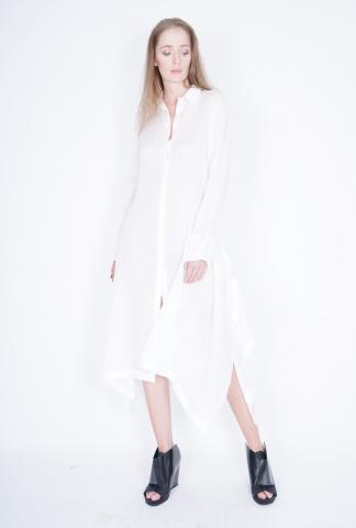 Ivan Grundahl Elongated Button-up Dress