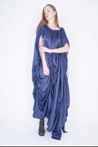 Ivan Grundahl Silk Blend Pullable String Parachute Dress