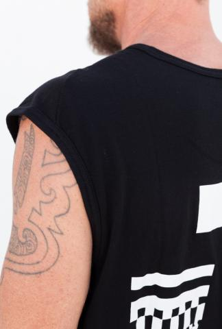 11byBBS sleeveless tee T2 Black PR4 White