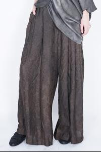 UMA WANG Prune pants extra wide pants