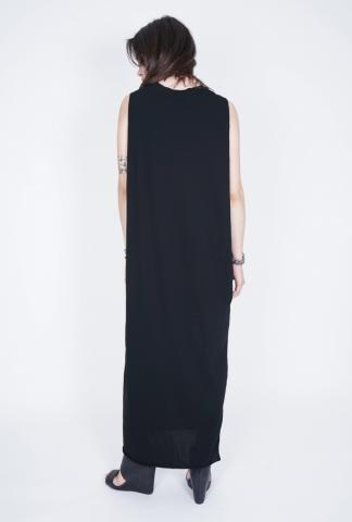 Isabel Benenato Oversized Dress with Leather Belt