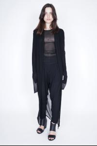 Isabel Benenato Long Knitted Cardigan