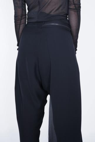 Isabel Benenato Trousers With Detachable Panel