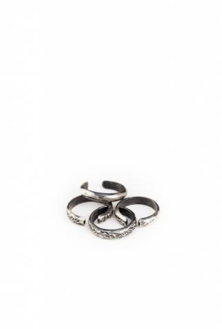Chin Teo 037K TRANSMISSION 4 KNUCKLE RINGS SET