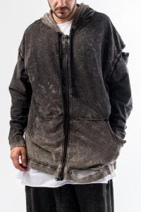 NostraSantissima  94UFF17 Hoodie with detachable sleeves