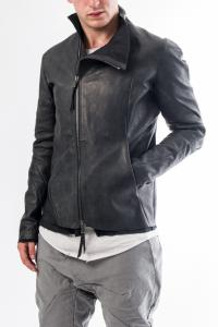 Leon Emanuel Blanck DIS-LJ-01 Anfractuous Distortion Lined 1mm Horse Leather Jacket