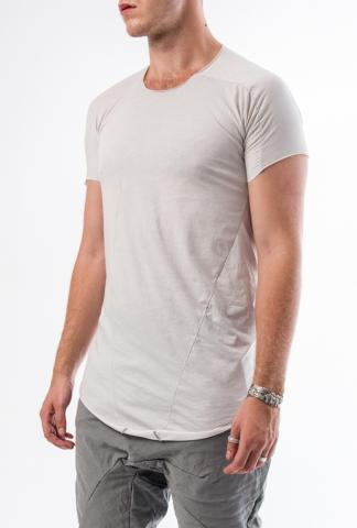 Leon Emanuel Blanck distortion curved t-shirt