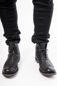 IERIB ROUNDED TOE ANKLE BOOTS