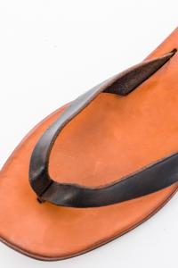 Dimissianos & Miller FLIP-FLOP_BLACK/ORANGE