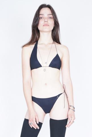 Nostrasantissima Asymmetric Bust Bikini