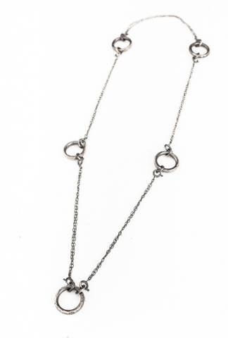 CHIN TEO 038 TRANSFUSION 5 RINGS NECKLACE