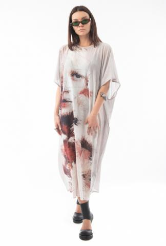 Barbara Bologna Printed Tube Dress